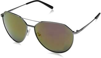 GUESS Men's GF0161-08U-61 Aviator Sunglasses