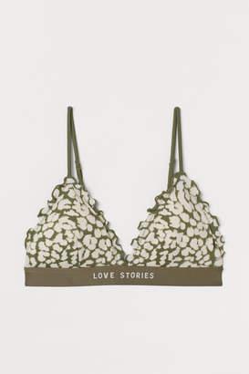 H&M Padded Triangle Bikini Top