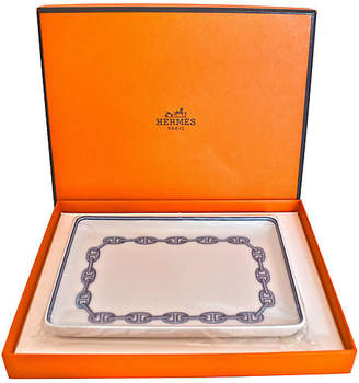 One Kings Lane Vintage HermAs ChaAne d'Ancre Tray with Box - The Montecito Collection