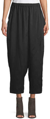Urban Zen Silky Parachute Scarf-Front Pants