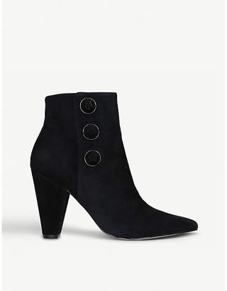 Carvela Sum button-detail suede boots