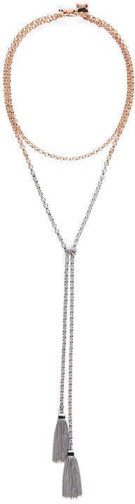 Bcbg Dual Lariat Necklace
