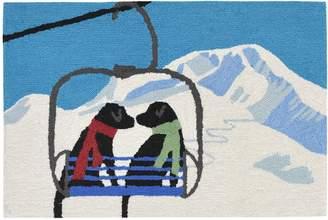 Liora Manné Ski Lift Love Doormat