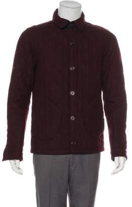 Scotch & Soda Wool Button-Up Jacket