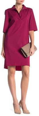 Lafayette 148 New York Kennet Short Sleeve Dress