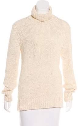 Michael Kors Textured Turtleneck Sweater