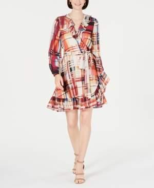 INC International Concepts I.n.c. Flounce-Hem A-Line Dress, Created for Macy's