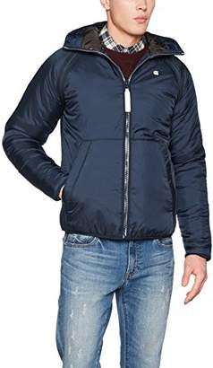 G Star Men's Strett Sport Padded Overshirt Jacket, (Legion Blue 862)