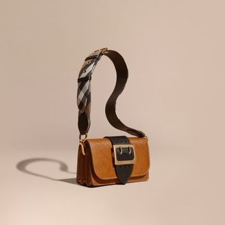 Burberry The Small Buckle Bag in Grainy Leather $1,295 thestylecure.com