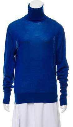 Celine Turtleneck Rib Knit Sweater