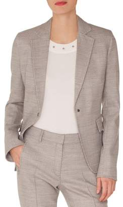 Akris Punto Stretch Wool Blazer