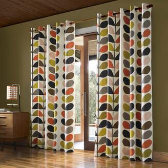 Orla Kiely Multi Stem Eyelet Curtains - 168x137cm