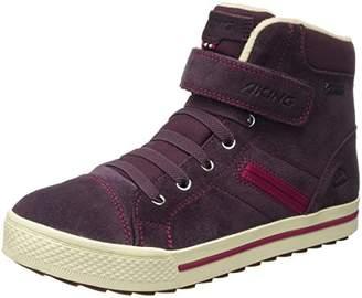 Viking Unisex Kids' Eagle III Low-Top Sneakers Purple Size: 5