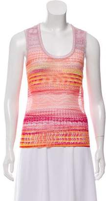 Missoni Sleeveless Scoop Neck Sweater w/ Tags