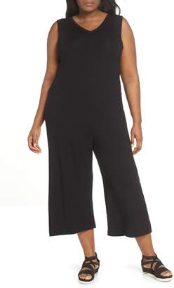 Eileen Fisher Sleeveless Crop Jumpsuit