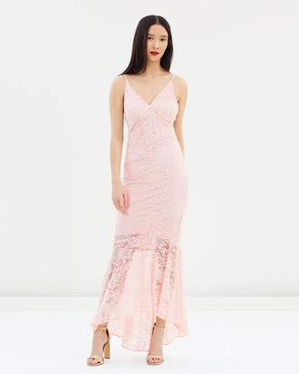 Miss Selfridge Lace Fishtail Prom Dress