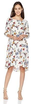 Peace Love Maxi Women's Flower Print Dress