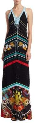 Roberto Cavalli Knit Butterfly Dress