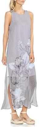 Vince Camuto Island Floral Chiffon Maxi Dress