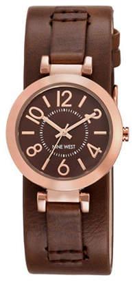 Nine West 1866BNRG Goldtone Stainless Steel Watch