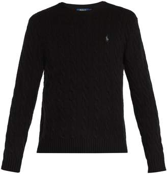 Polo Ralph Lauren Wool-blend cable knit sweater