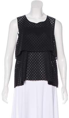 Rebecca Minkoff Sleeveless Lattice Top w/ Tags