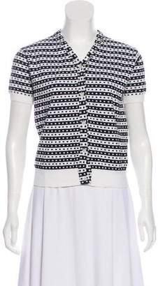 Marni Patterned Short Sleeve Sweater