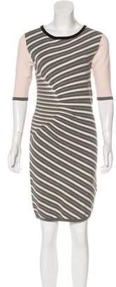 Ted Baker Knee-Length Stripe Dress