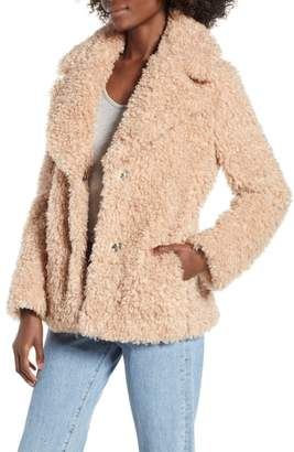 Kensie Faux Fur Jacket