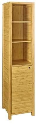 Linon Stefan One Door Tall Cabinet