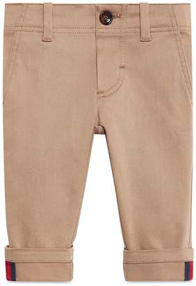 Gucci Baby gabardine pant with Web