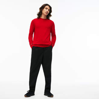 babdc7b396 Lacoste Crew Neck Sweater - ShopStyle