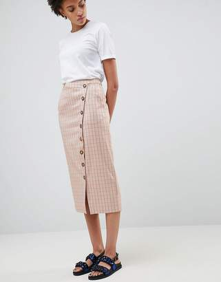 Asos Check Skirt