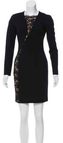 Emilio Pucci Emilio Pucci Lace-Paneled Sheath Dress w/ Tags