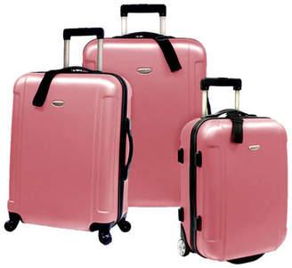 Traveler's Choice 3-Piece Farley Rolling Luggage Set