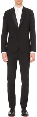 Paul Smith Mens Black Contrast Formal Tuxedo