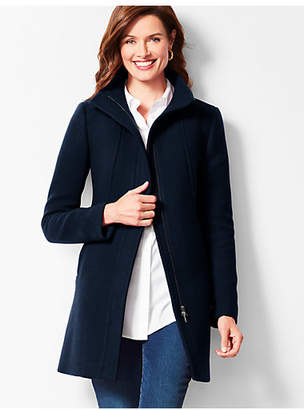 Talbots Wool Stadium Coat
