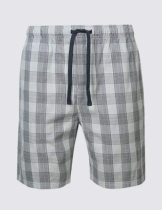 Marks and Spencer Supima® Cotton Slim Fit Pyjama Shorts