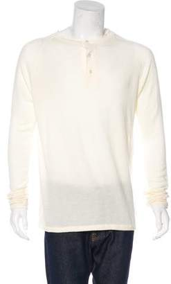 V::room Long Sleeve Henley T-Shirt w/ Tags