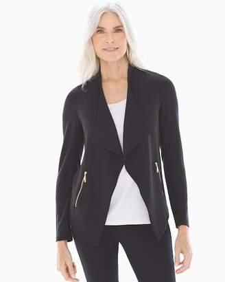 French Terry Moto Zip Jacket