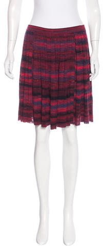 Tory Burch Tory Burch Striped Mini Skirt