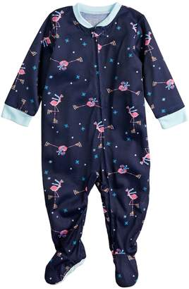Flamingos Baby/Infant Jammies For Your Families Skating Blanket Sleeper One-Piece Footed Pajamas