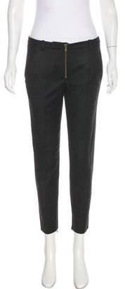 Alexander McQueen Mid-Rise Virgin Wool Pants