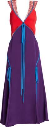 Prabal Gurung Rajita Lace Insert Dress