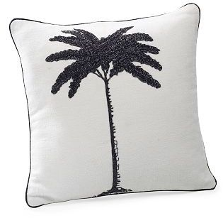 Palm Tree Zardozi Pillow
