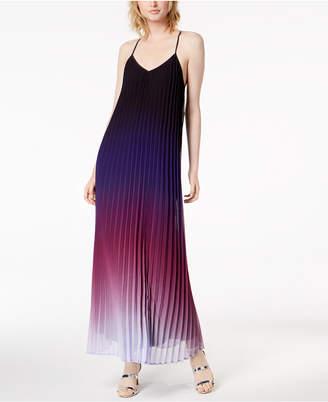 Bar III Ombré Pleated Maxi Dress, Created for Macy's