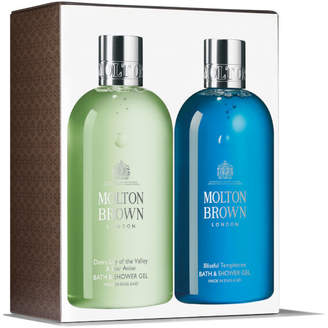 Dewy Lily Of The Valley & Star Anise And Blissful Templetree Bath and Shower Gel Duo 2 x 300ml