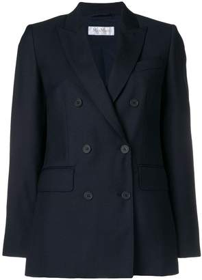 Max Mara double breasted suit jacket