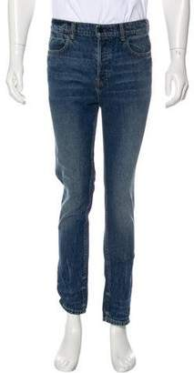 Alexander Wang Denim x Woven Skinny Jeans