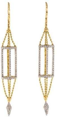 Phillips House 14K Diamond Drop Earrings